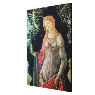 Primavera, detail of Venus, c.1478 Canvas Print