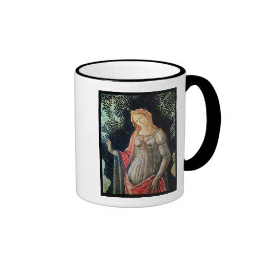 Primavera, detail of Venus, c.1478 Coffee Mugs