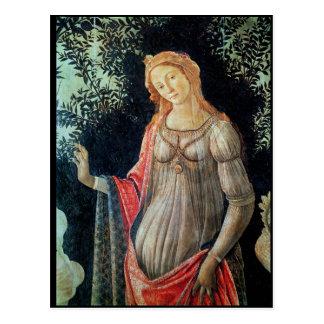 Primavera, detalle de Venus, c.1478 Tarjeta Postal
