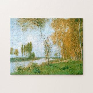 Primavera en bella arte de Argenteuil Monet Puzzle