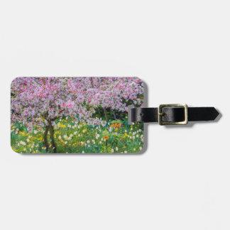 Primavera en el jardín de Claude Monet Etiqueta Para Maleta