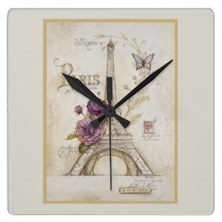 Primavera en el reloj de París
