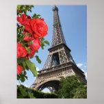 Primavera en la torre Eiffel Impresiones