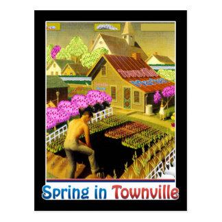 Primavera en Townville Postal