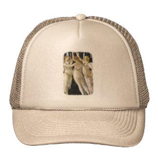 Primavera excerpt Botticelli 1482 Masterpiece Trucker Hat
