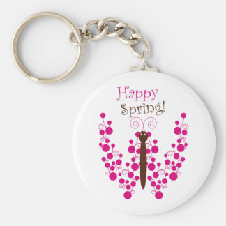 Primavera feliz llavero