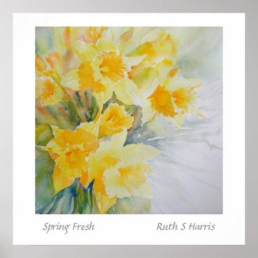 Primavera fresca posters