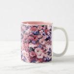 Primavera hermosa floral taza