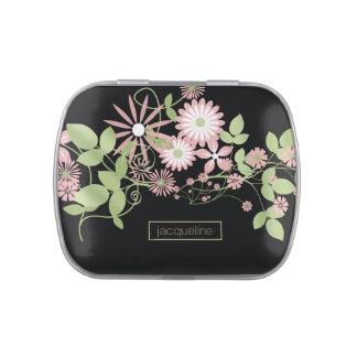 Primavera ID190 floral Latas De Caramelos