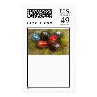 Primavera - Pascua - huevos de Pascua Sello