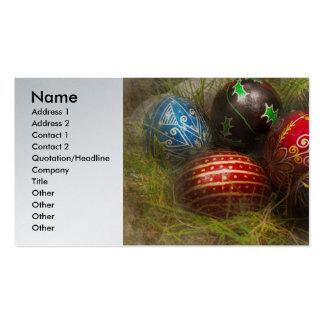 Primavera - Pascua - huevos de Pascua Tarjetas De Visita