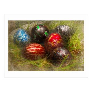 Primavera - Pascua - huevos de Pascua Tarjetas Postales