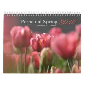 Primavera perpetua 2010 calendario de pared
