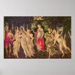 Primavera por Botticelli, arte renacentista