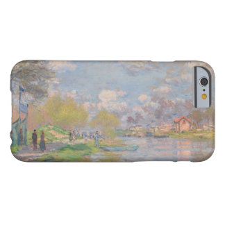 Primavera por el Sena de Claude Monet Funda De iPhone 6 Barely There