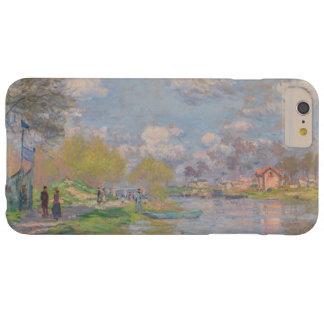 Primavera por el Sena de Claude Monet Funda De iPhone 6 Plus Barely There