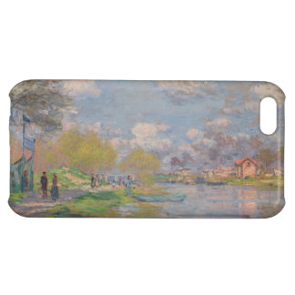 Primavera por el Sena de Claude Monet