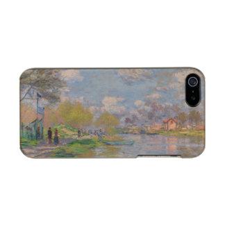 Primavera por el Sena de Claude Monet Carcasa De Iphone 5 Incipio Feather Shine