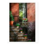 Primavera - pórtico - Hoboken en primavera Postal