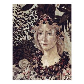 """Primavera (Primavera) por Botticelli Sandro Folleto 8.5"""" X 11"""""""