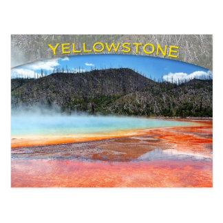 Primavera prismática magnífica, parque nacional de tarjetas postales