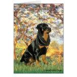 Primavera - Rottweiler (#5) Felicitaciones