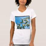 Primavera sabia de las citas floral camiseta