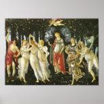 Primavera, Sandro Botticelli, bella arte 1482 de Póster