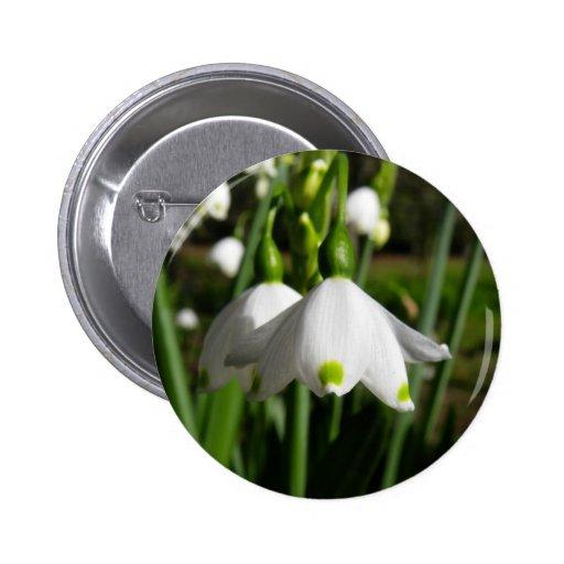 Primavera Snowdrops Pin