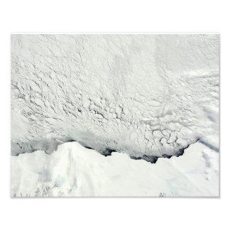 Primavera temprana en el antártico impresión fotográfica