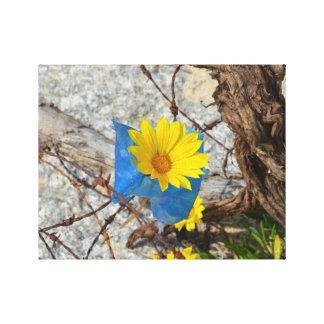 Primavera ucraniana 2014 impresión en lienzo estirada