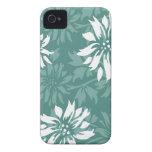 Primavera y invierno florales Case-Mate iPhone 4 carcasas