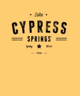 Primaveras de Cypress del lago Camiseta
