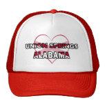 Primaveras de la unión, Alabama Gorros Bordados