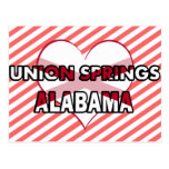 Primaveras de la unión, Alabama Postal