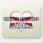 Primaveras de la unión, Alabama Tapete De Raton