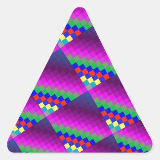 Prime Asymmetry Triangle Sticker
