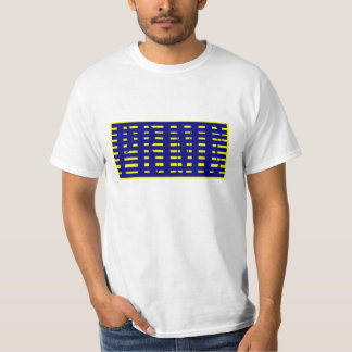 Prime Authentic Blue and Yellow T-Shirt