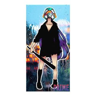 -PRIME- Batgirl SNOW Card Photo Card