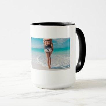 Beach Themed Prime LA It's A California Tattoo Life Mug