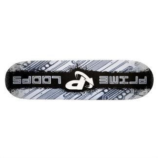 Prime Loops - Glitch Cuts design Skate Board Decks