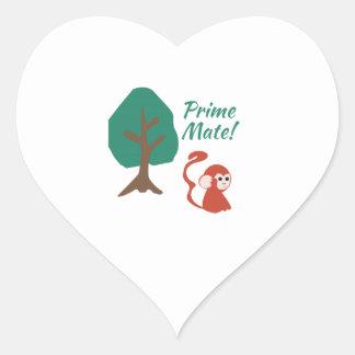 Prime Mate Heart Sticker