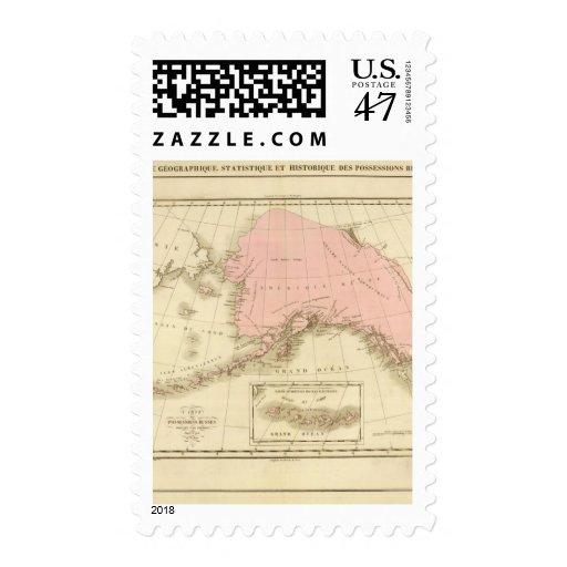 Prime meridians Washington and Paris Stamp