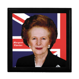Prime Minister Margaret Thatcher - The Iron Lady Jewelry Box