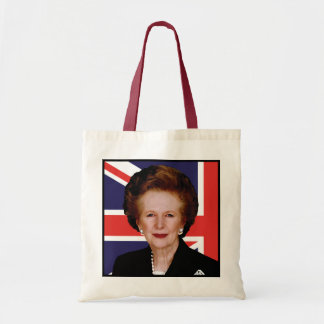 Prime Minister Margaret Thatcher - The Iron Lady Tote Bag