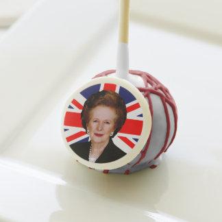 Prime Minister Margaret Thatcher Cake Pops