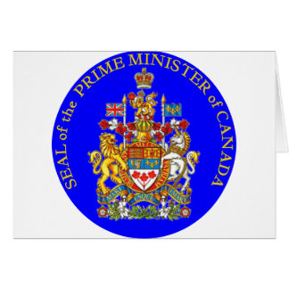 Prime Minister of Canada Card