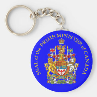 Prime Minister of Canada Key Chain