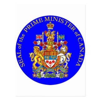 Prime Minister of Canada Postcard