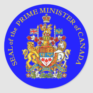 Prime Minister of Canada Stickers